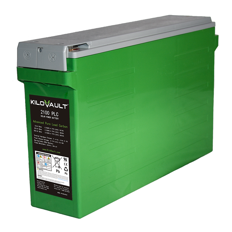 KiloVault PLC Series Advanced Pure Lead Carbon Batteries