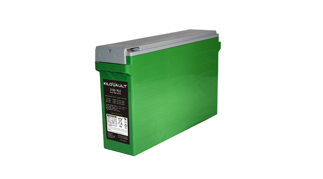 KiloVault Unveils PLC Advanced Pure Lead Carbon Batteries
