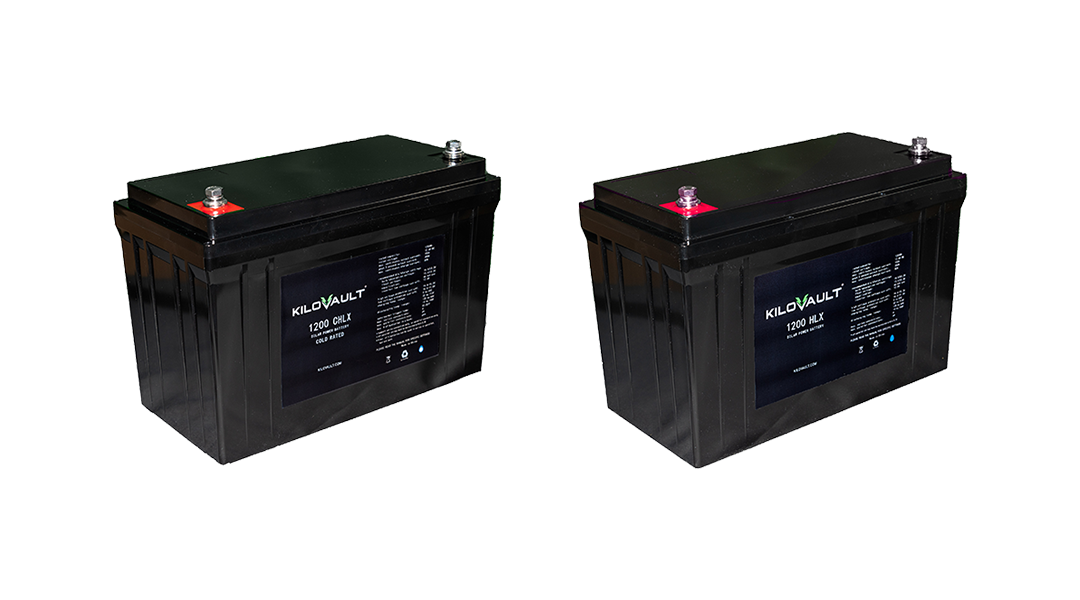 KiloVault Unveils New 1200 Watt-Hour Deep-Cycle Batteries